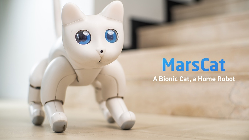 MarsCat: A Bionic Cat, a Home Robot project video thumbnail