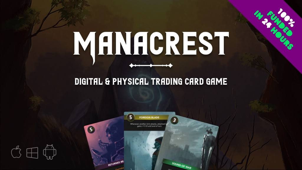 Manacrest (Physical & Digital TCG) project video thumbnail