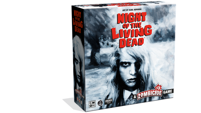 Write your survival story! The cult horror classic meets the smash hit board game, with amazing miniatures and art based on the movie!