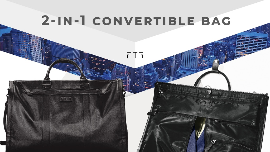 The Everyday Bag: Convertible Garment & Duffel Bag