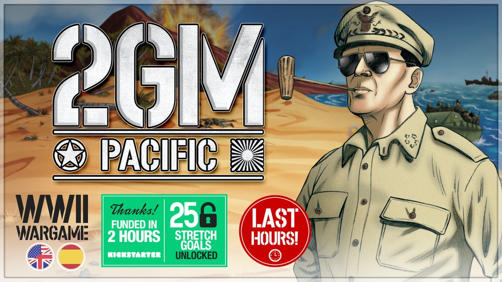 2GM Pacific (WWII wargame) project video thumbnail