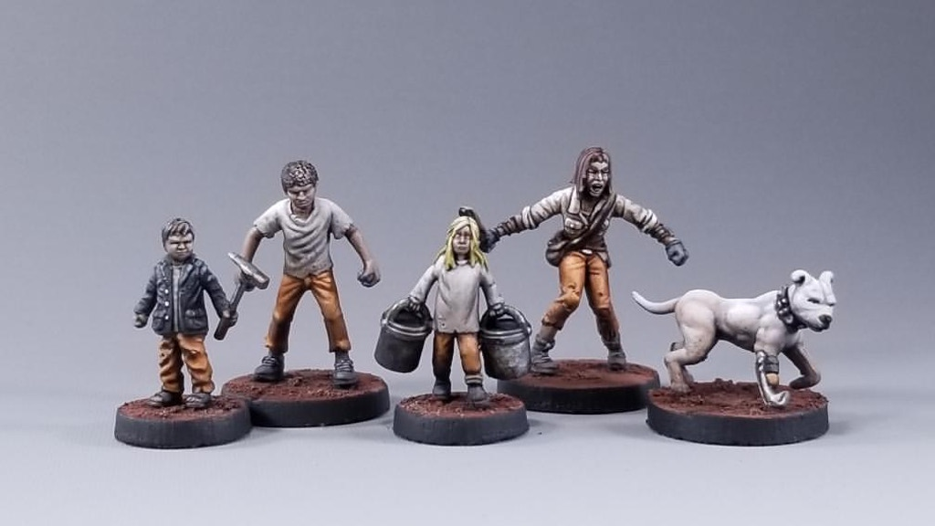 Project image for Children of FerrumSky : Child Miniatures for Broken Contract