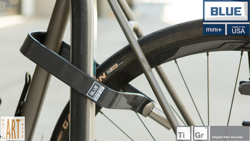TiGr® BLUE High Carbon Steel Strong and Light Bike Lock project video thumbnail