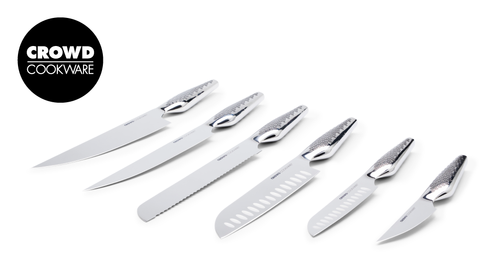 6 knives, designed with 7.000 backers & Michelin chefs project video thumbnail