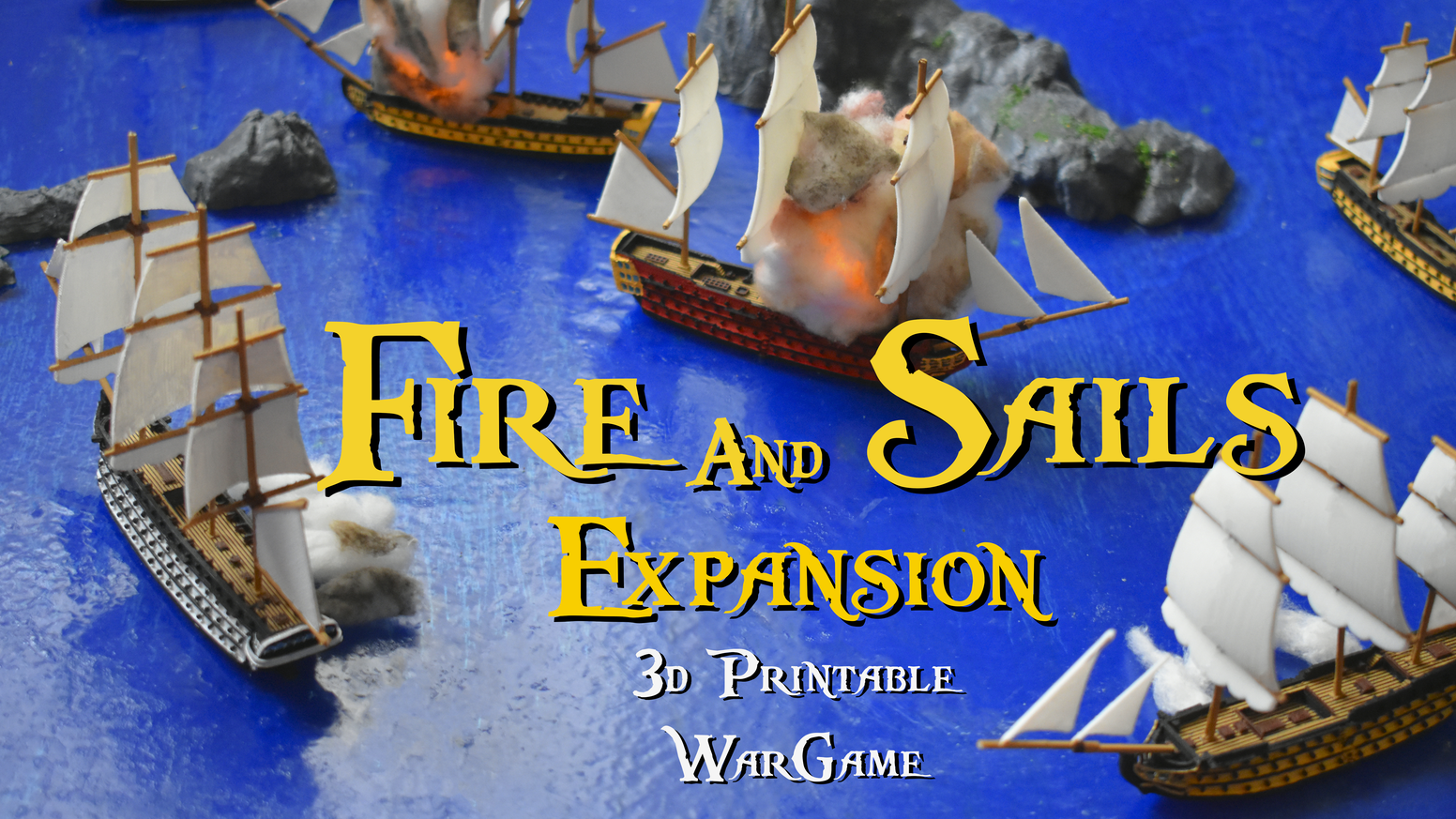 Expand your fleet with historic ships. 3d printable naval wargame. Download, print and play.