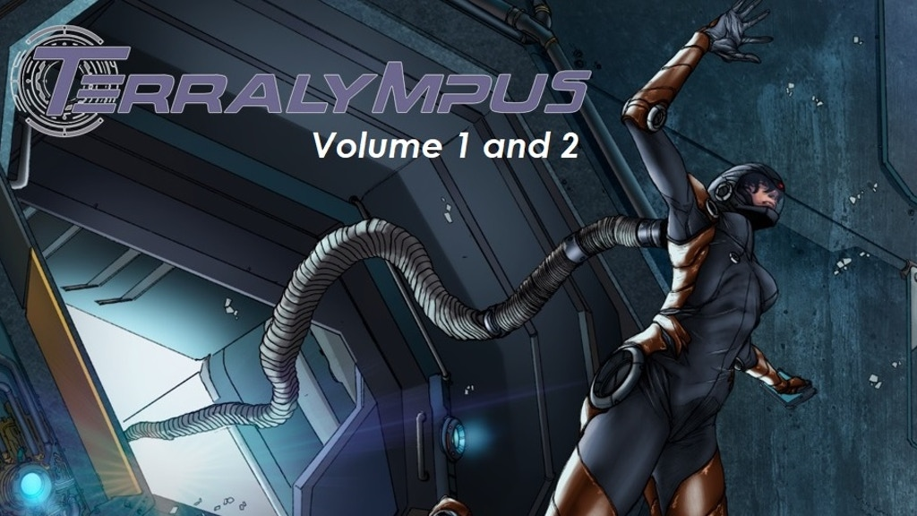 Terralympus - Volume 1 & 2 - Space Sci-Fi Graphic Novel project video thumbnail