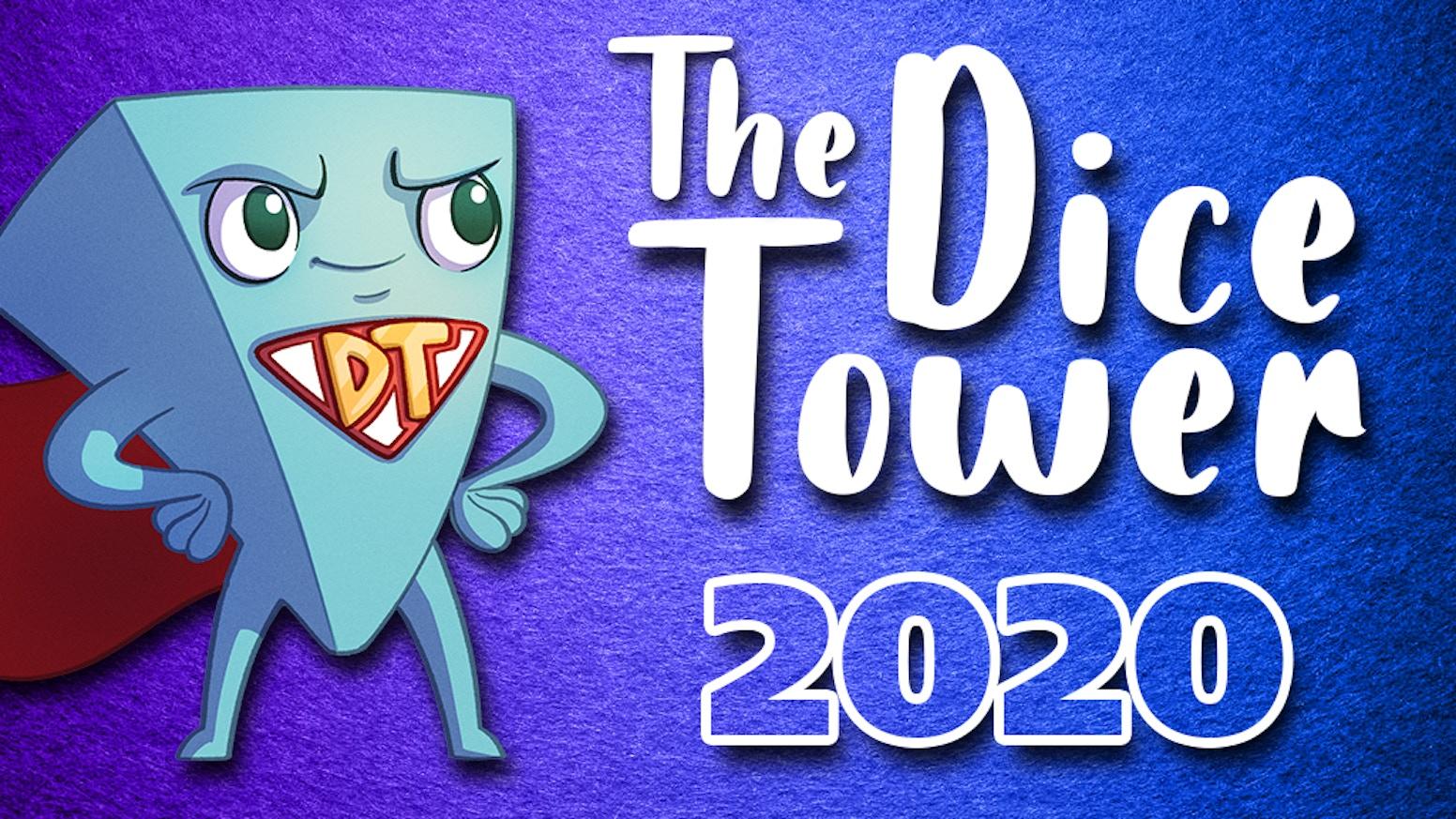 Dice Tower Christmas 2020 Dice Tower   2020 by Tom Vasel — Kickstarter