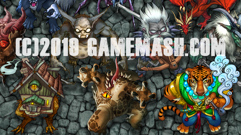 Project image for Game Mash Chipboard Monster Tokens (Canceled)