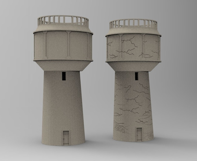 The World At War Part 5 3d Printable Terrain By 3d Print