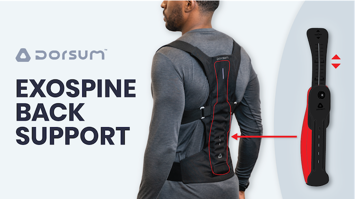 Flexible Back Support Posture Enhancer Keeping Your Back In The Right Position to Avoid Pain