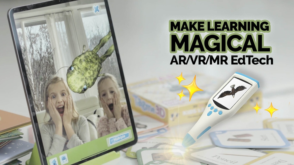 BOOK+APP | AR/VR/MR Learning Can Be Magic! project video thumbnail