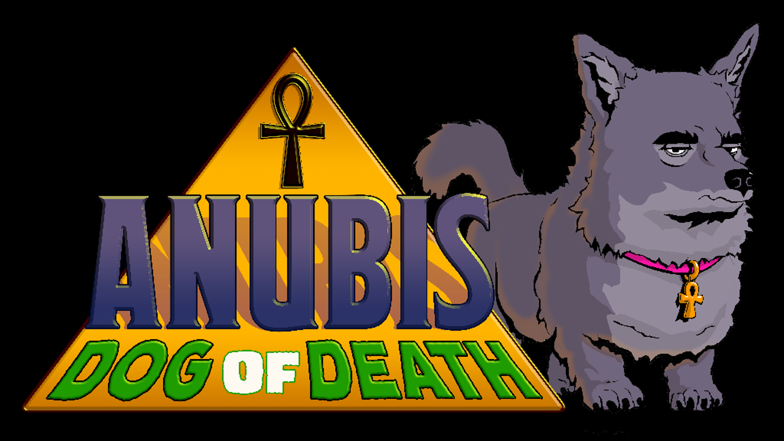 The first issue of an action comedy comic book series about the Egyptian god of death, doomed to an existence as a tiny purse dog.