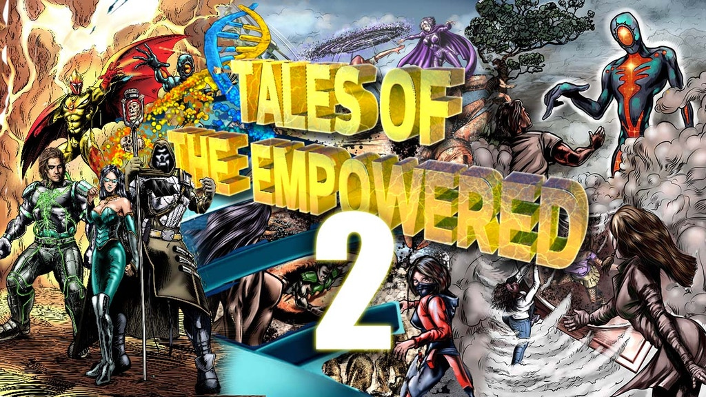 Make 100: Tales of the Empowered 2 - A Second Anthology project video thumbnail