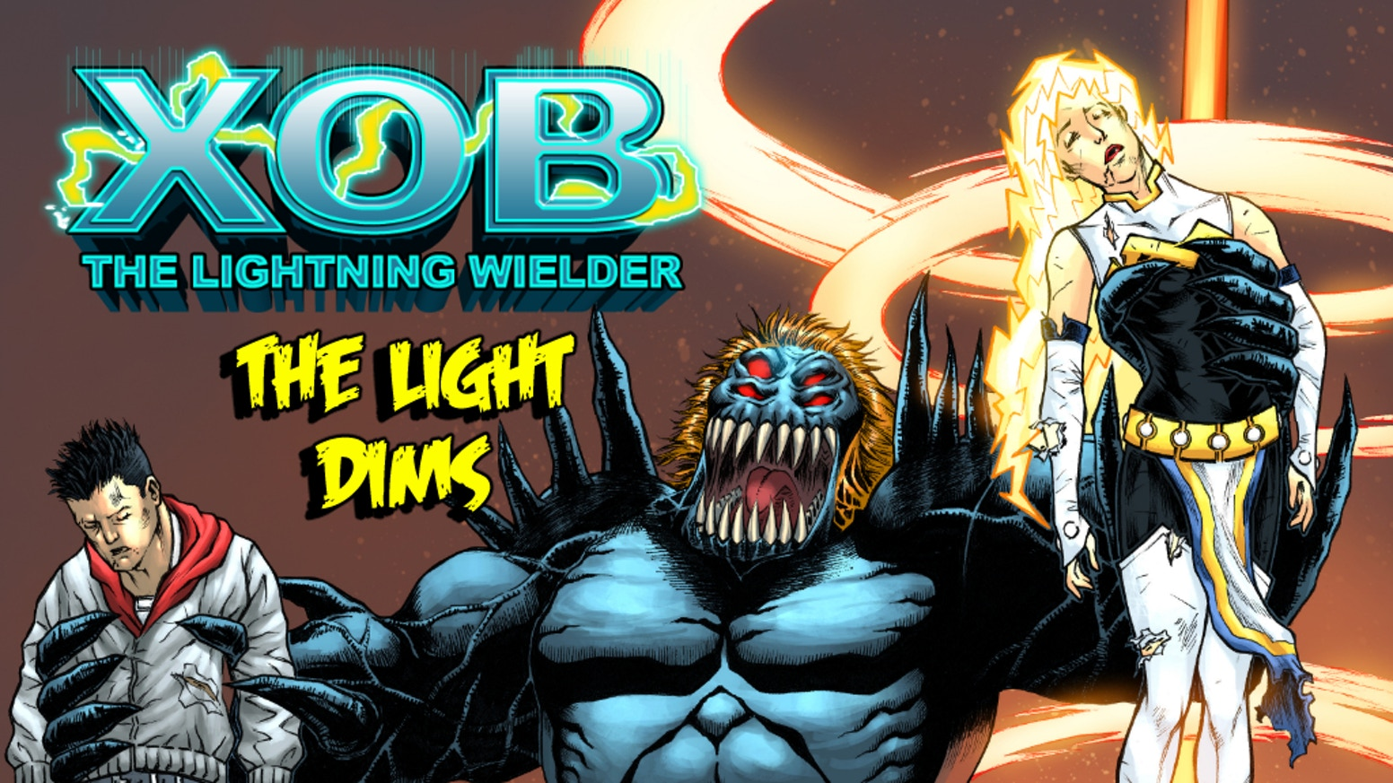 Get the first 3 issues of Xob