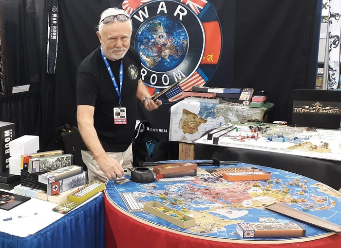 Larry Harris, renowned Axis & Allies designer, and Nightingale Games present WAR ROOM, a deluxe global World War II board game with 4 scenarios for 2-6 players. To purchase supplements or the game please use the blue button below...