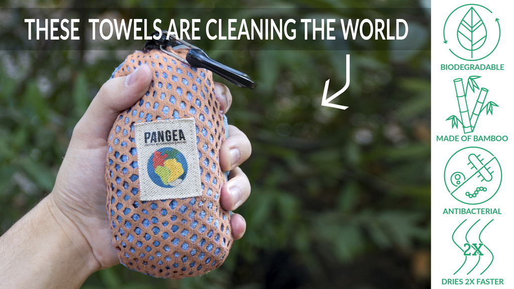 PANGEA Bamboo Travel Towel project video thumbnail