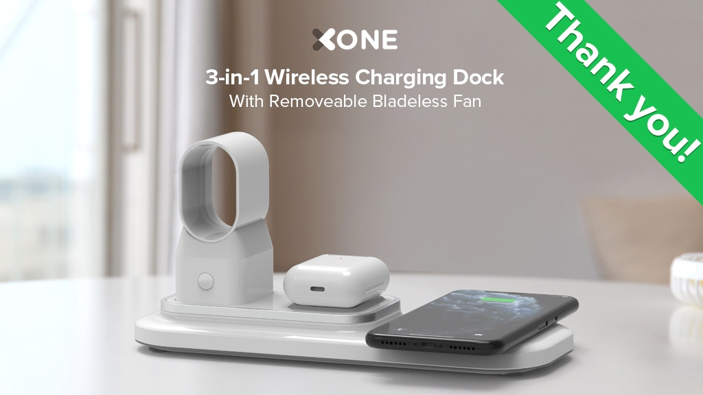 XONE, The Most Affordable 3 In 1 Wireless Charging Dock project video thumbnail