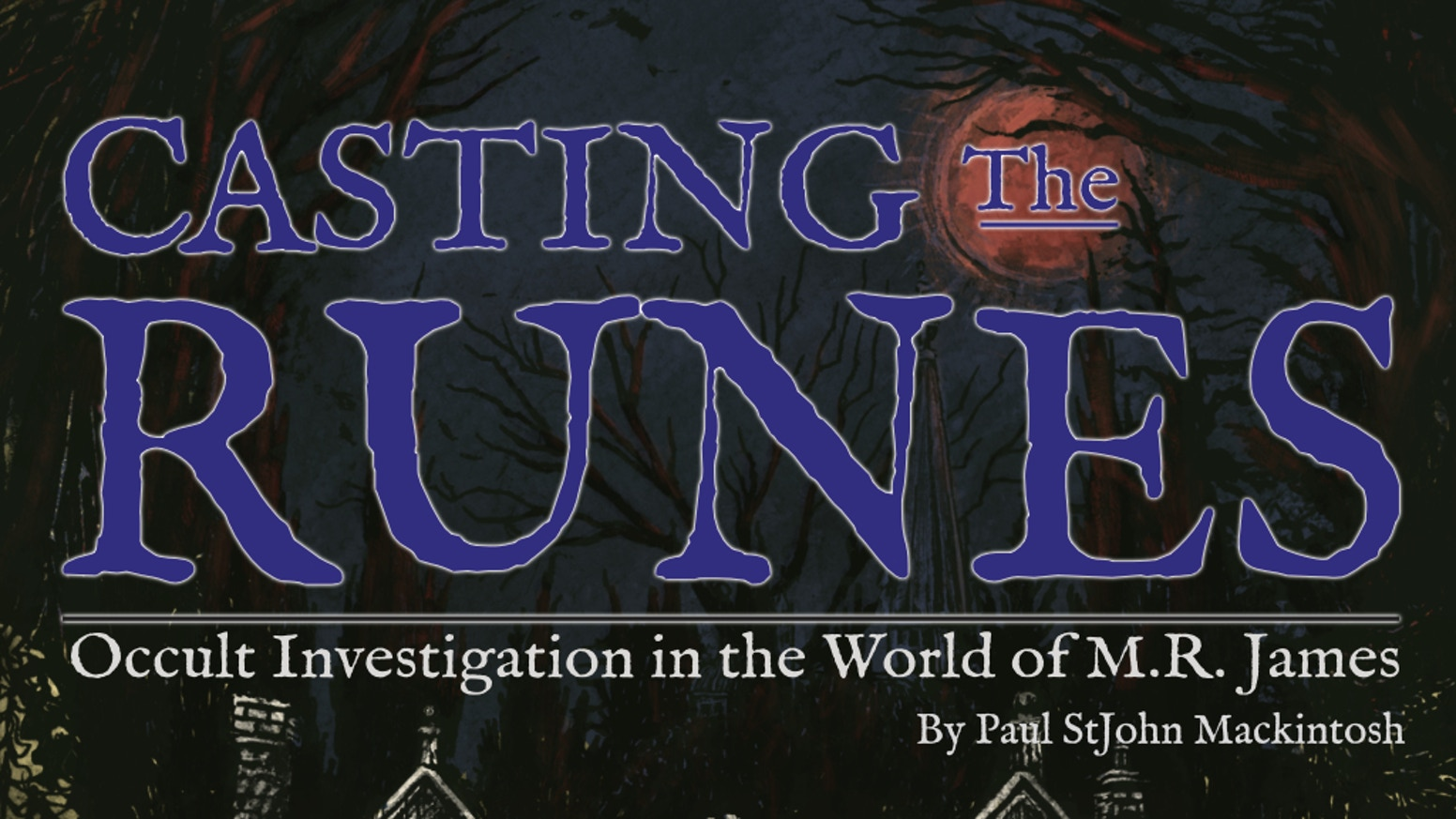A roleplaying game, based on the GUMSHOE engine, for supernatural investigations in the worlds of M.R James.