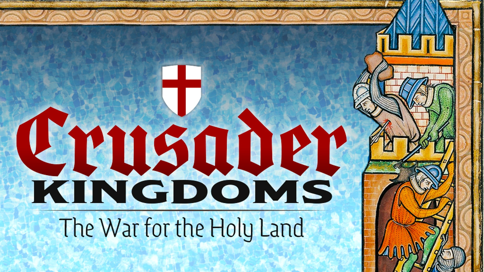 A game on the Crusades for 1 to 4 players with a solitaire engine.  Fight the Crusades in an hour; solo, cooperative, and competitive.