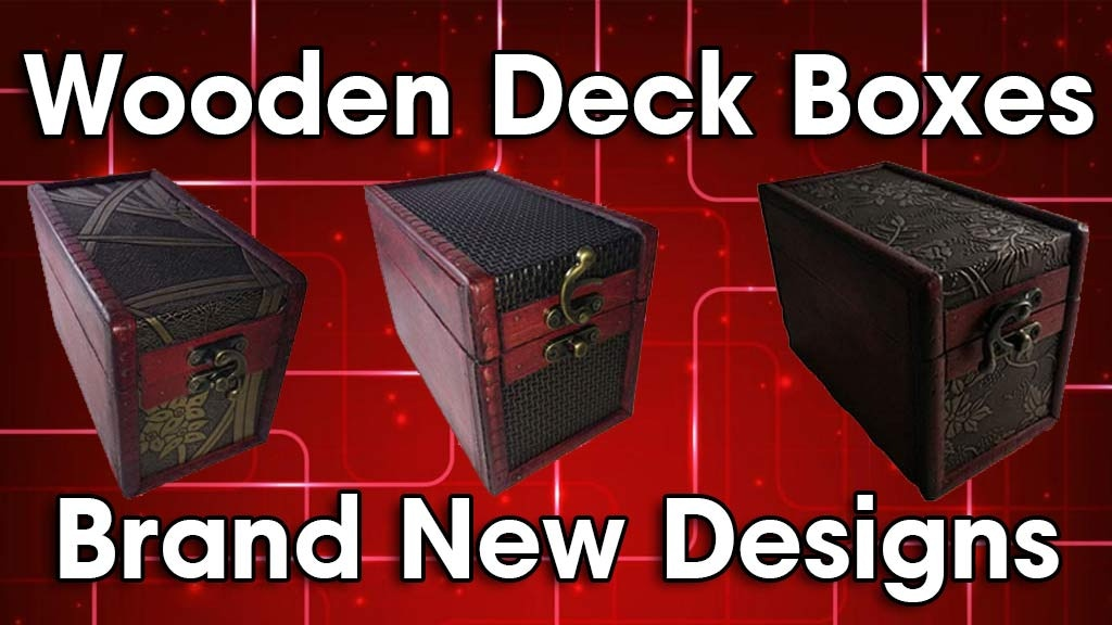 Project image for Custom Wooden Card Game Deck Boxes - Make 100