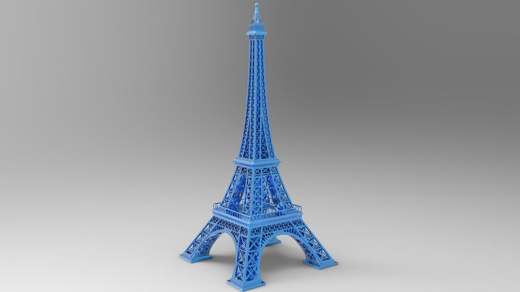 Project image for Make 100 3D Printable Homes & Eiffel Tower