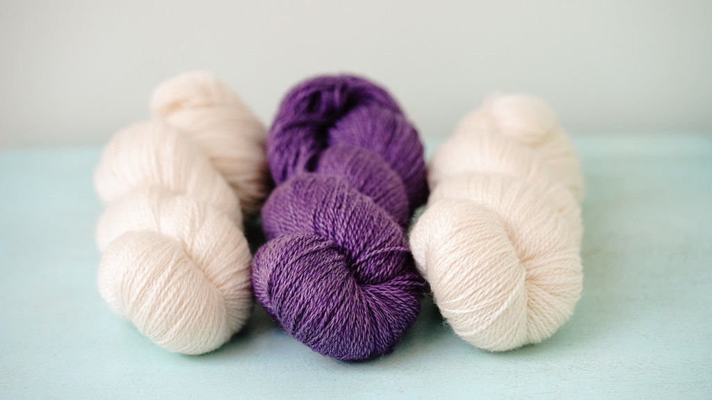 HeartSpun: A brand new luxury eco British yarn project video thumbnail