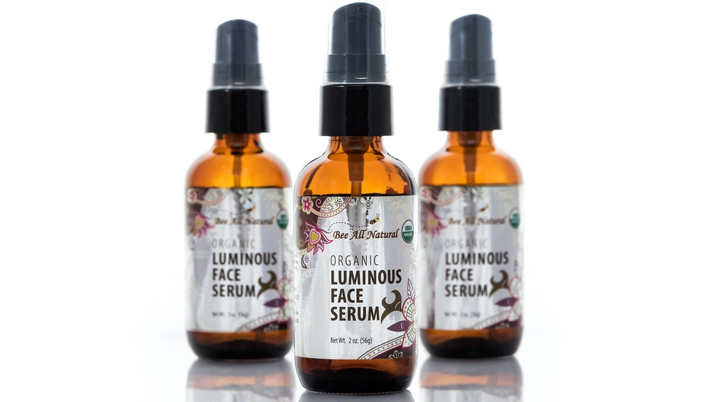Bee All Natural - Organic Luminous Face Serum