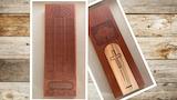 Customized Hardwood Cribbage Board -- MAKE 100 thumbnail
