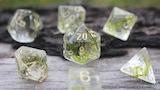 Make 100: «Mystic Moss» handmade D&D moss dice thumbnail