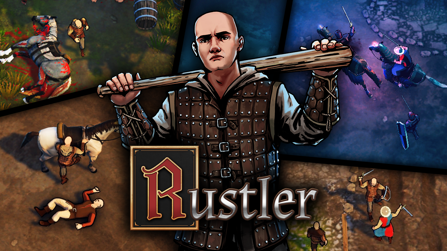 Become a medieval thug in a crazy open-world action game, full of pop-culture references. All packed in old-school gameplay style!