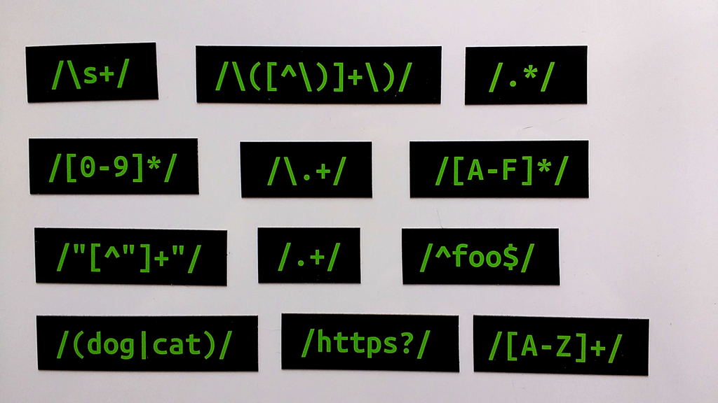 Regular Expressions Magnet Collection & Guide project video thumbnail