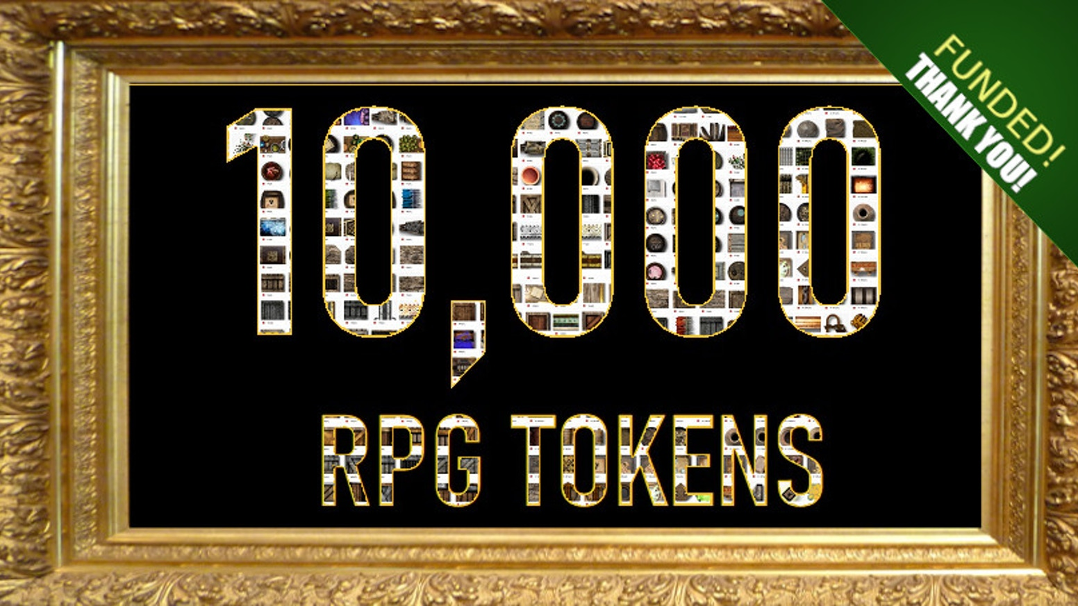 TEN THOUSAND TOKENS in digital format to suit your RPG / VTT table-top games.