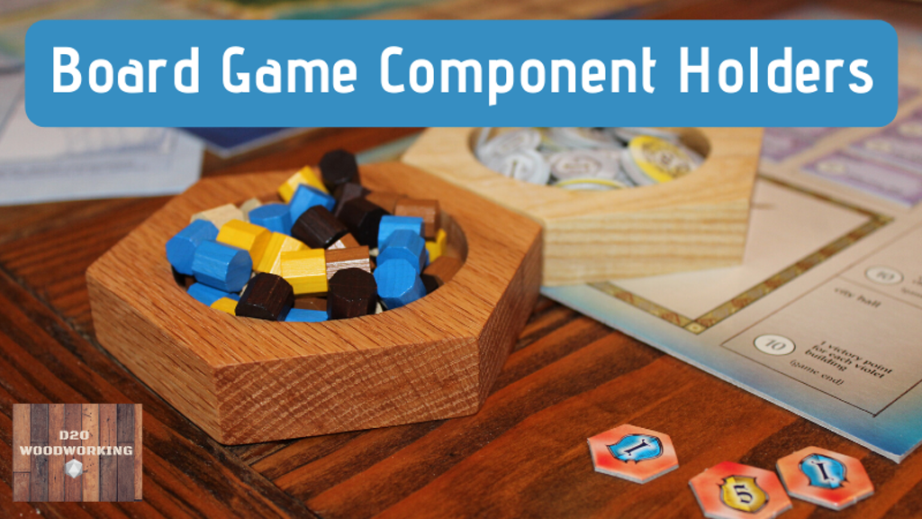 Project image for Board Game Component Holders - Make 100