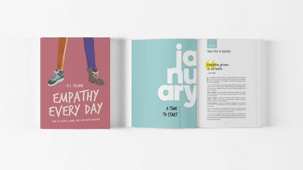 Empathy Every Day: A Daily Meditation Book About Empathy project video thumbnail