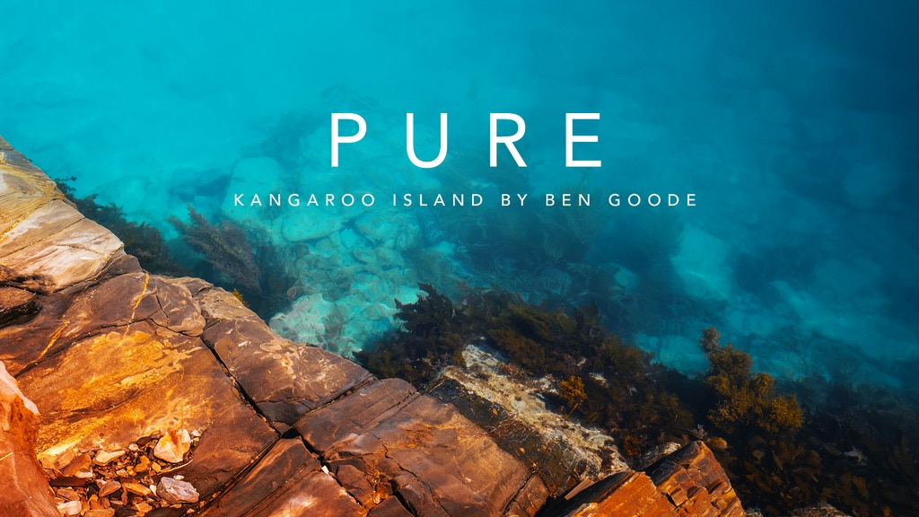 Project image for 'Pure' - Kangaroo Island - A Photo Book by Ben Goode