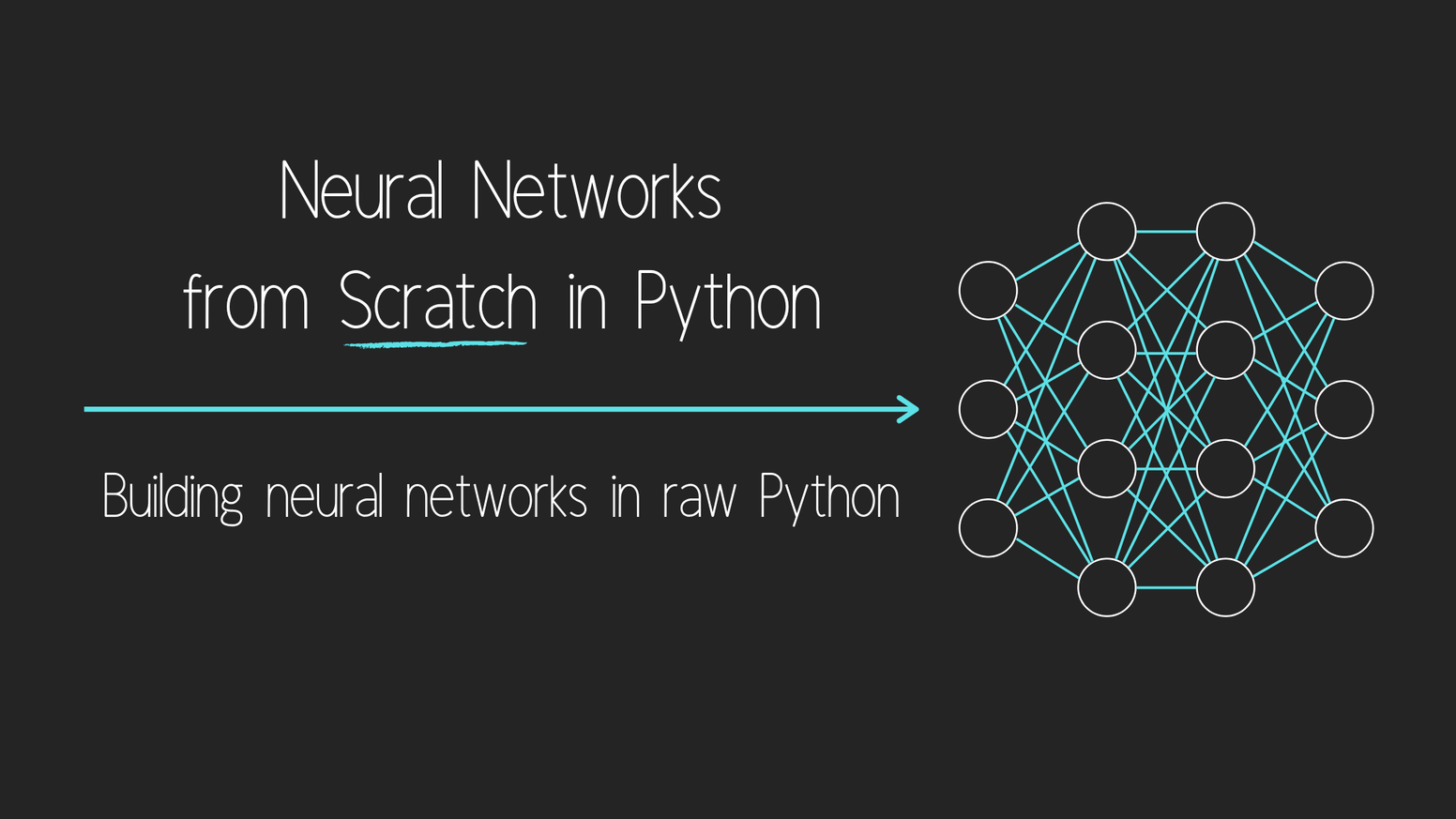 Learn the inner-workings of and the math behind deep learning by creating, training, and using neural networks from scratch in Python.