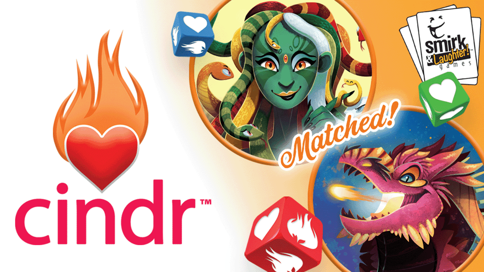 A push-your-luck dice game about dating amazing dragons... without getting burned.