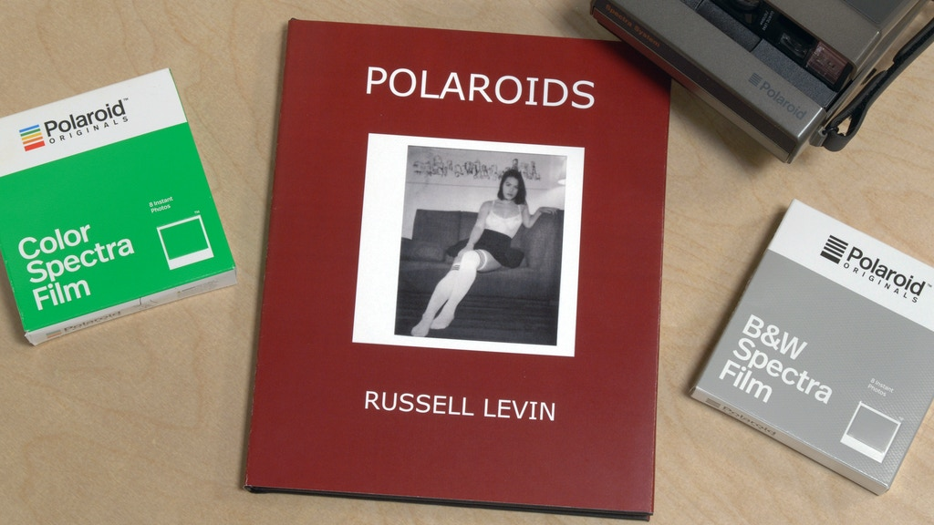 """POLAROIDS"" A SIGNED LIMITED EDITION BOOK BY RUSSELL LEVIN project video thumbnail"