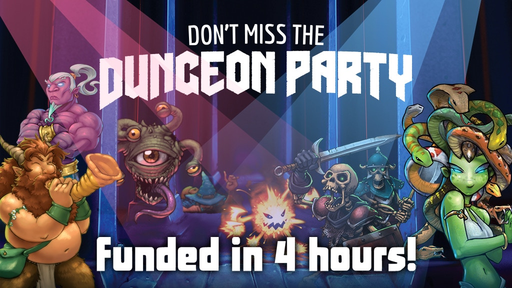Dungeon Party project video thumbnail