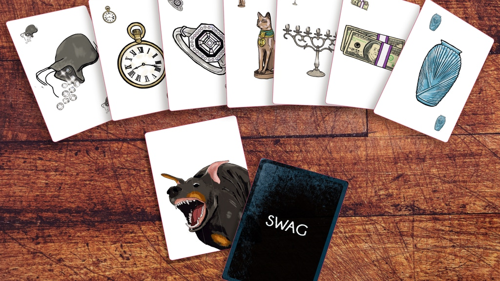 Swag - a fast paced and simple card game for ages 8+