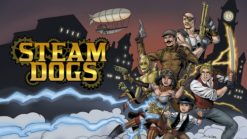 Project image for Steam Dogs (Canceled)