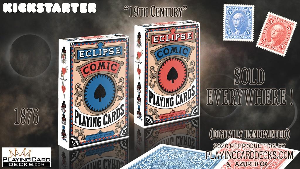 Eclipse Comic Vintage Reproduction Transformation Decks project video thumbnail