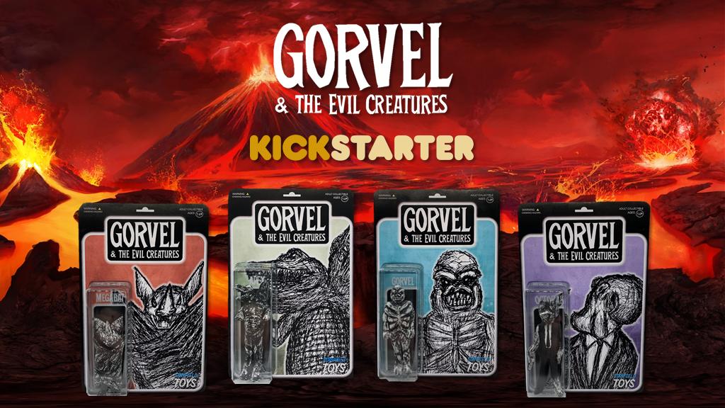 GORVEL & THE EVIL CREATURES