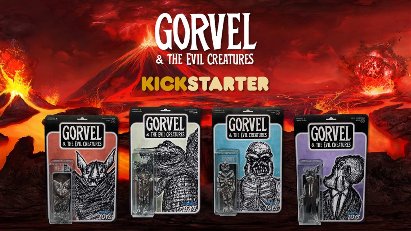 EXCLUSIVE LAUNCH OF THE TOYS FROM HELL!