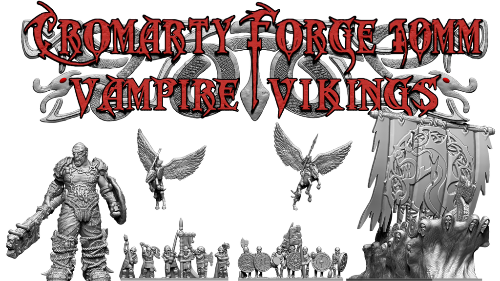 Cromarty Forge 10mm: Vampire Vikings project video thumbnail