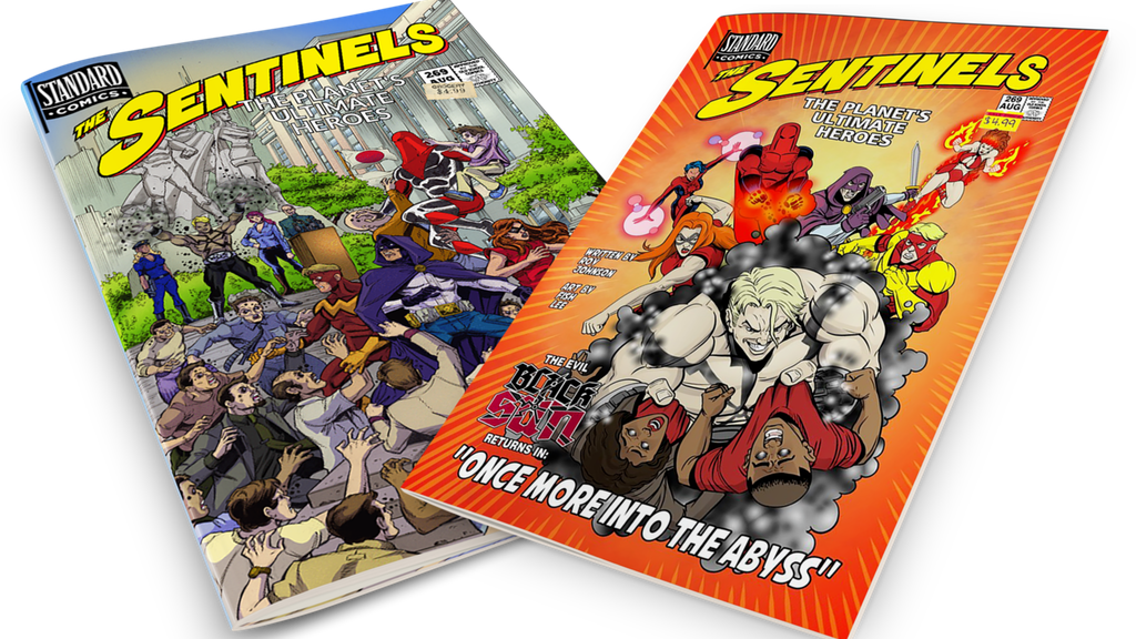 "Sentinels #267-269 ""... Abyss"" Bronze-Age Superhero Comic project video thumbnail"
