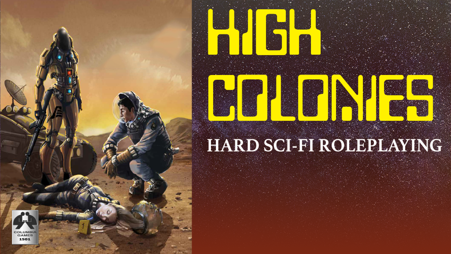 Hard Science Fiction RPG 23rd Century