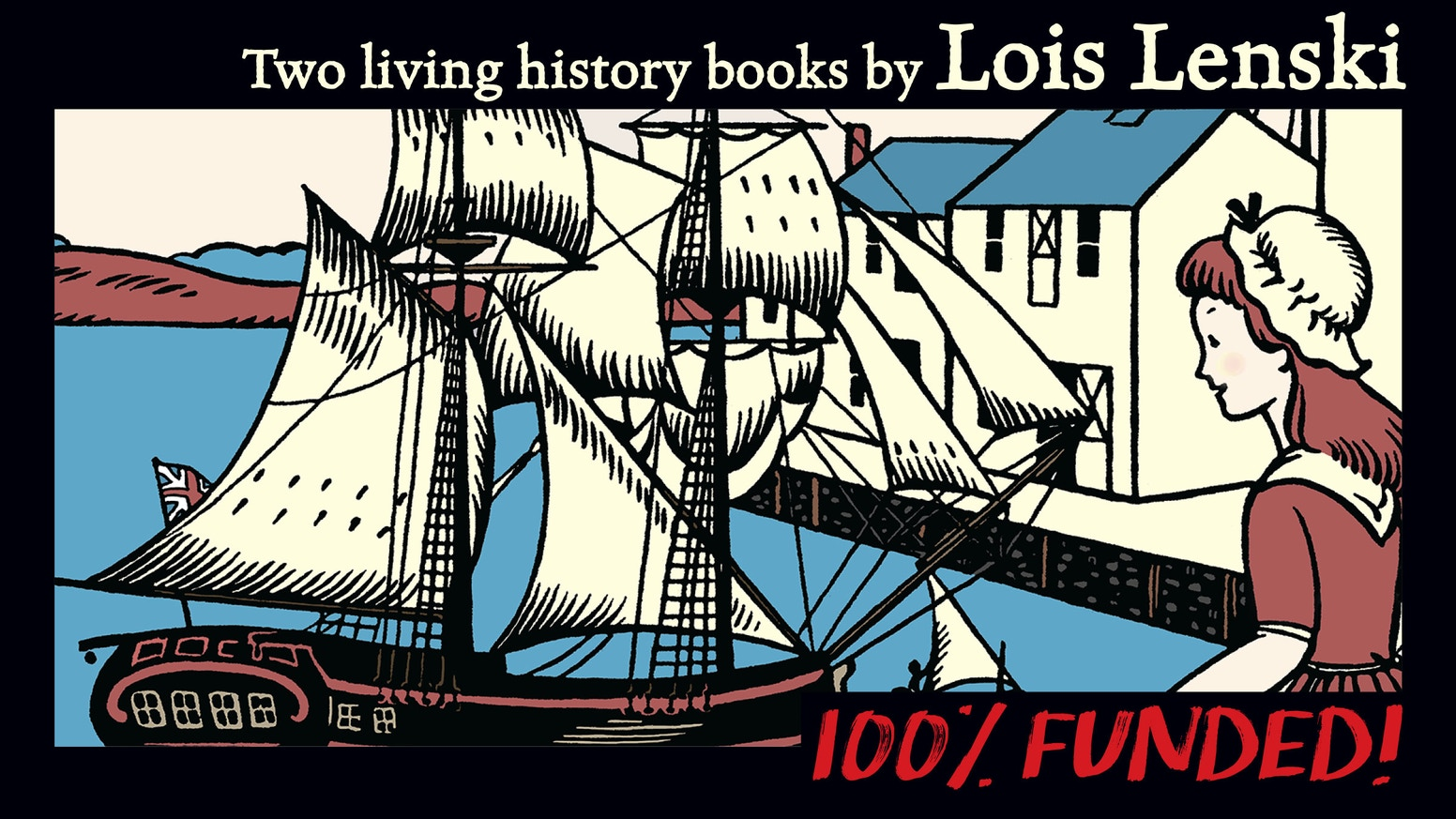 Living history books, in heirloom quality hardcover editions, by award-winning author Lois Lenski