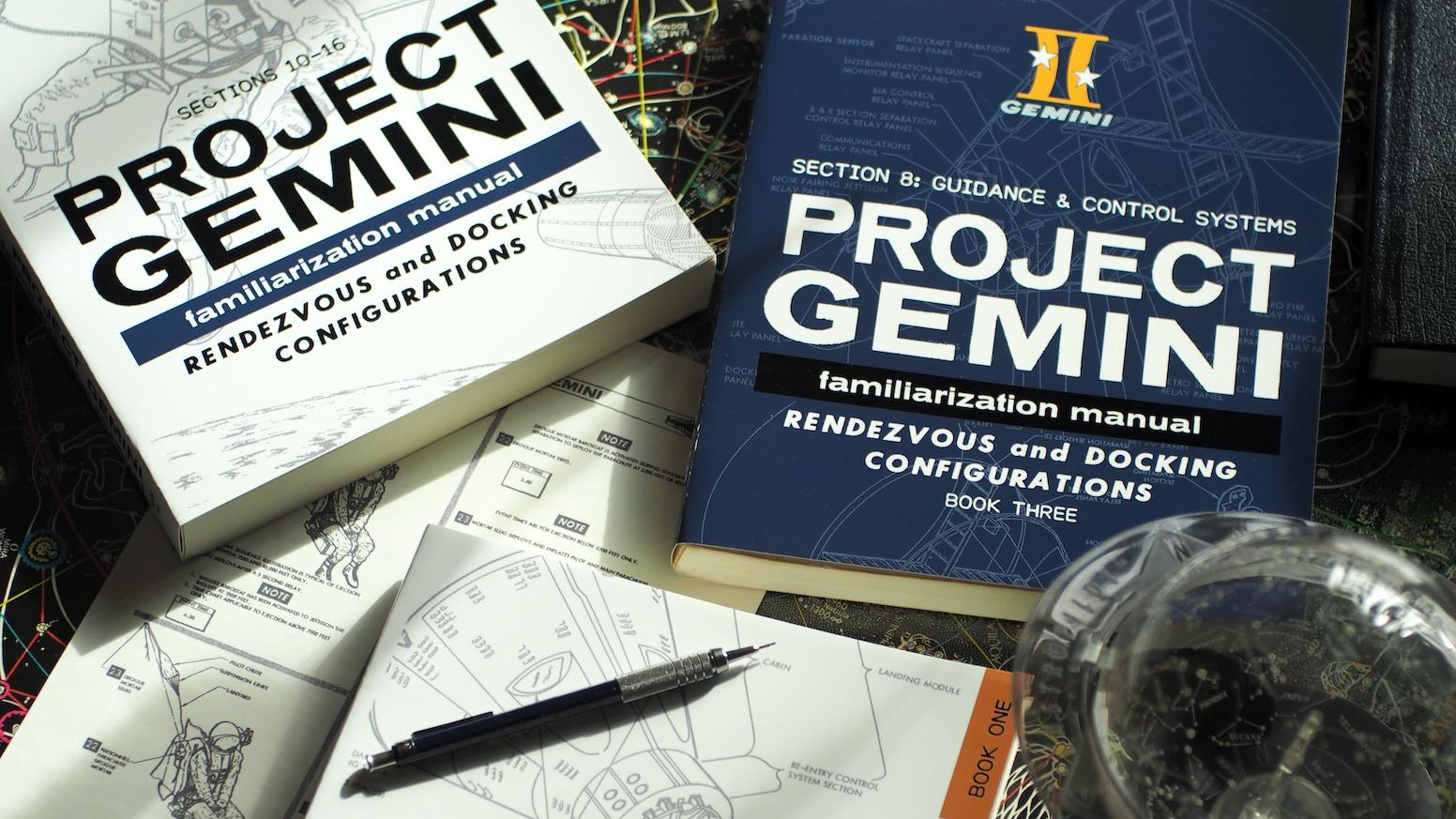 The original Gemini Familiarization Manual restored and reprinted in various editions.
