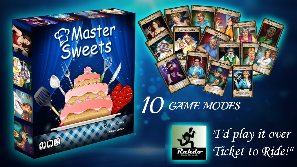 Master Sweets TE project video thumbnail